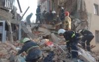 Поисково-спасательные работы на месте обрушившегося дома в Дрогобыче завершены
