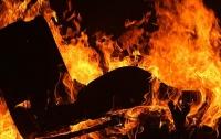 Пожар под Харьковом: спасатели нашли тело женщины