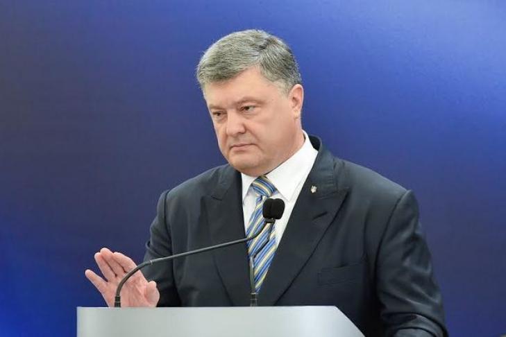 Порошенко объявил обеспрецедентной помощи государства Украины намеждународной арене