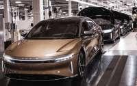 Lucid запустила производство электрического седана Air
