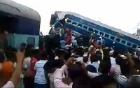 Число пострадавших в железнодорожной аварии в Индии выросло до 74