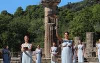 В Греции зажгли олимпийский огонь (видео)