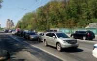 Массовое ДТП в Киеве: 7 авто столкнулись на столичном бульваре