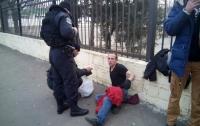 Одесситы работают за полицию: очевидцы задержали грабителя-иностранца
