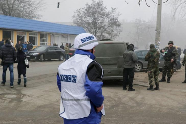 ОБСЕ: РФ подрывает усилия попрекращению военных действий наДонбассе