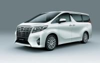 Toyota презентовала новую версию минивэна Alphard