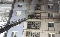 Два человека погибли в огне в киевской многоэтажке