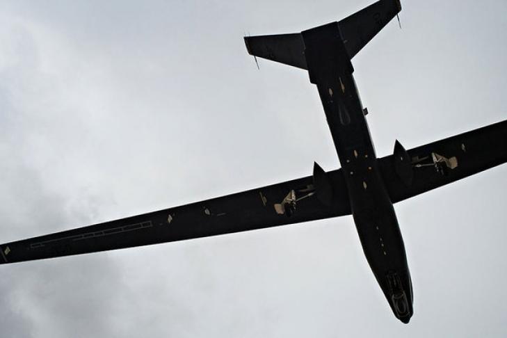 Американский беспилотник провел разведку вДонбассе ивдоль русских границ