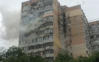 Огненная ловушка: в Одессе пылал 16-этажный жилой дом
