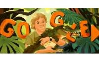 В Google створили дудл до дня народження Стіва Ірвіна