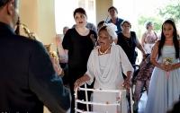Жительница Бразилии вышла замуж в 106 лет