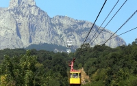 Туристы снова могут подняться на Ай-Петри по «канатке»