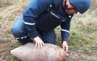 Под Кривым Рогом обнаружили 100-килограммовый снаряд
