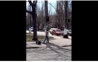Одесситка гуляла с телевизором