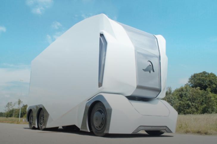 Шведы создали прототип беспилотного грузового автомобиля без кабины