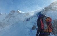 В горах Китая пропали 22 альпиниста