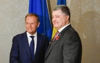 Порошенко и Туск договорились о проведении саммита Украина-ЕС