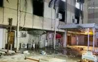 В Багдаде прогремел взрыв в COVID-больнице, много жертв (фото)