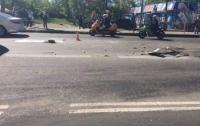 Авария в Одессе: фура влетела в маршрутку с людьми