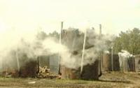 На Черкасчине хитрые умельцы нелегально производили уголь (ФОТО)