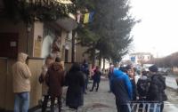 Студенты в Ривне начали протест против задержки стипендии
