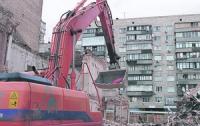 В центре Киева снесли дом, в котором жил Михаил Грушевский