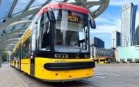 Новая партия польских трамваев прибыла в Киев