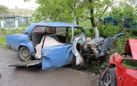 Смертельное ДТП под Одессой: автомобили смяло как консервные банки (видео)