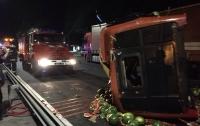 Масштабное столкновение грузовиков на Виннитчине: есть жертвы