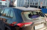 В Киеве авто разбили и