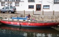 Яхта после 5 лет реставрации утонула за 5 минут
