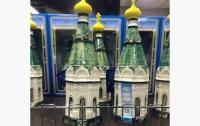 Священники возмутились бутылкой водки в форме часовни