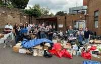 Синагогу в английском городке завалили подарками для афганских беженцев