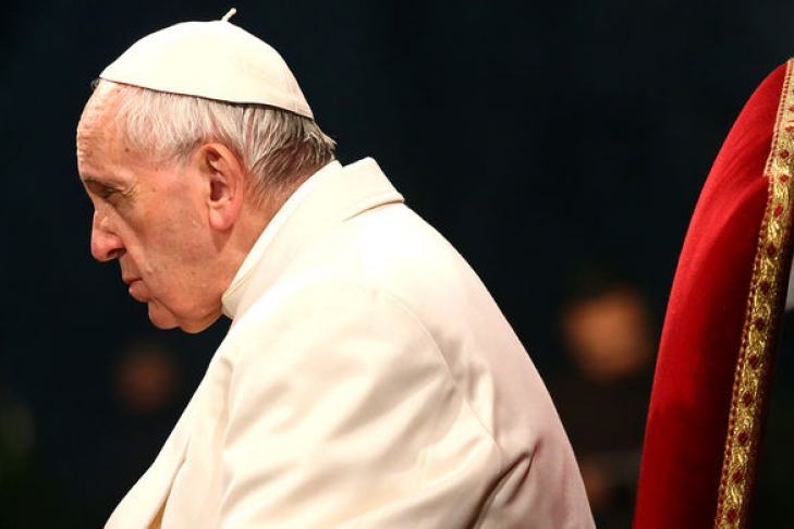Папа Франциск призвал мир помнить овойне вУкраинском государстве