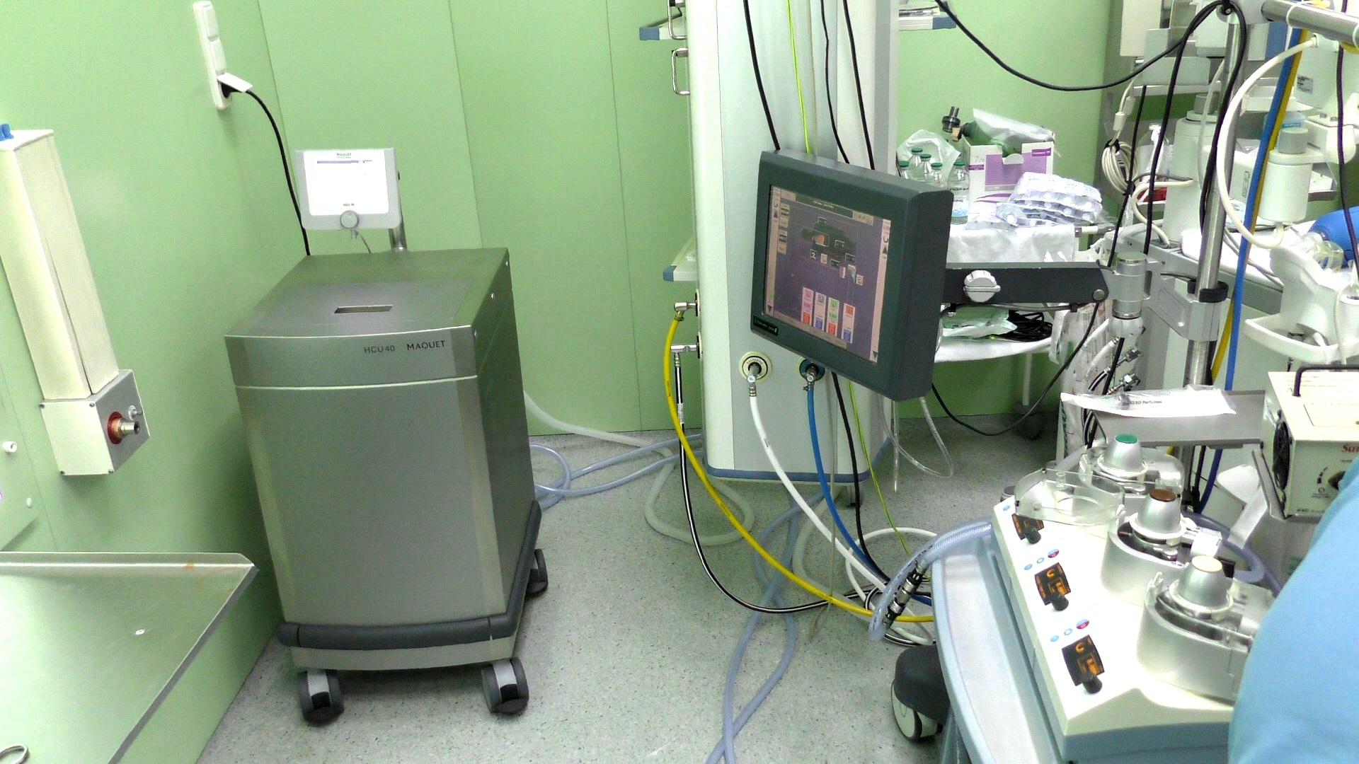 Корпорация ROSHEN передала детскому кардиоцентру терморегулирующий аппарат за 2 млн грн