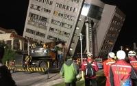 Землетрясение в Тайване: число жертв возросло (видео)