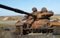 Украинские военные уничтожили вражеский танк