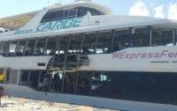 В Мексике взорвался пассажирский паром (видео)