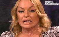Волочкова пришла пьяная на телевизионный эфир