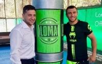 Зеленский поздравил Ломаченко с победой