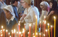 В Украине начинается Рождественский пост