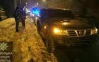 ДТП в Харькове: из-за сильного удара автомобиль вылетел в кювет