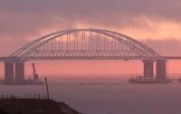 На Керченском мосту снова обнаружили проблемы (видео)