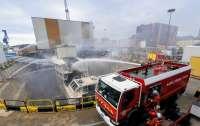 Во Франции 14 часов тушили пожар на атомной субмарине