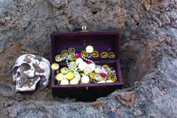 Найден самый крупный клад древних саксов.
