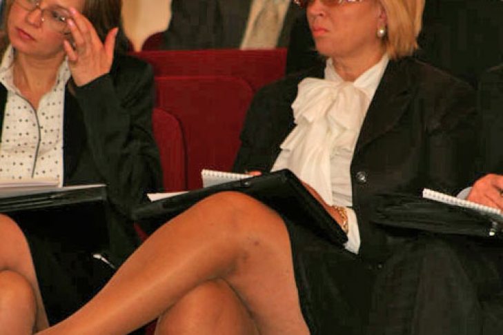 У тимошенко под юбкой