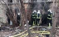 В центре столицы горела больница
