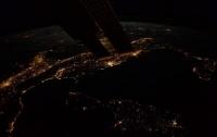 Астронавт ESA опубликовал снимок ночной Земли