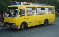На Одесщине водитель маршрутки набросился на участницу АТО