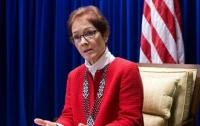 Посол США передала в Пенсионный фонд Украины миллион долларов